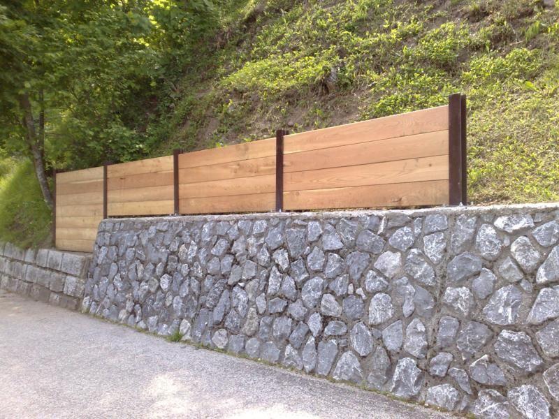 muri di sostegno giardino suggerimenti : Muri Di Contenimento E Sostegno Muretti E Camminamenti A Secco Sassi ...